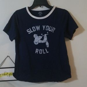 Old Navy everywear graphic t-shirt slow your roll